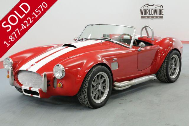 1966 SHELBY COBRA STREET BEAST 1K MILES 5 SPEED 4.6L CRATE