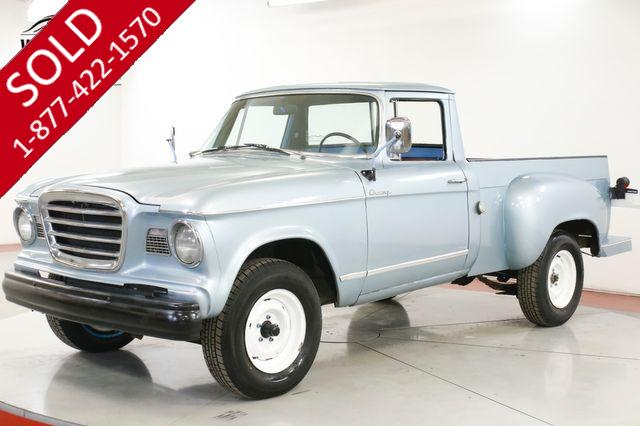 1960 STUDEBAKER  CHAMP RARE TRUCK FIRST YEAR
