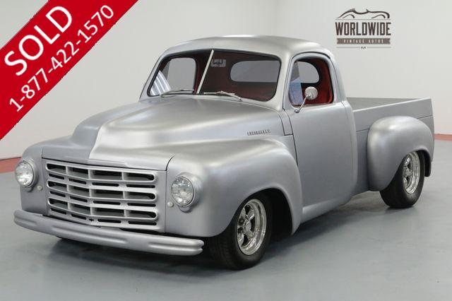 1952 STUDEBAKER PICKUP 2R RESTOMOD TRUCK AC FULLY RESTORED