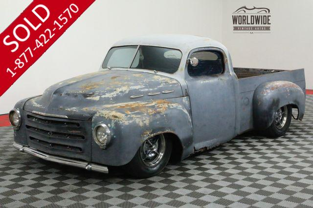 1949 STUDEBAKER TRUCK RAT ROD HOT ROD SHORT BED V8 AUTO