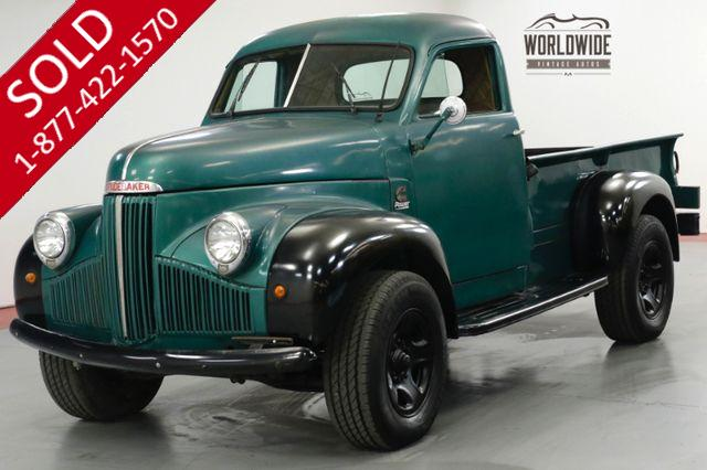 1947 STUDEBAKER TRUCK M2. CUMMINS 4BT TURBO DIESEL, 5 SPEED!