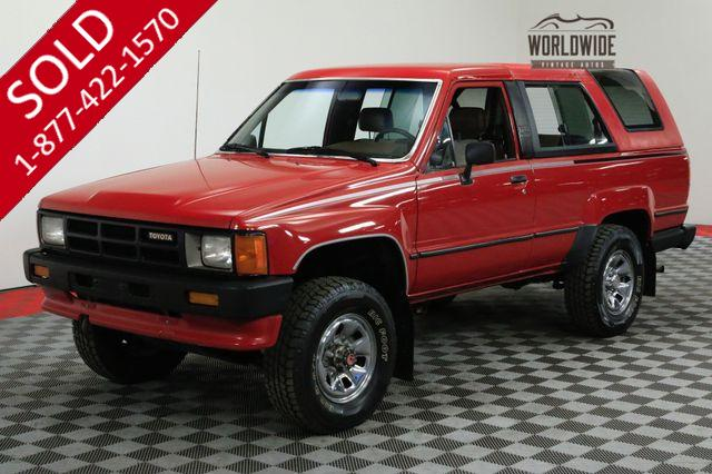 1986 TOYOTA 4RUNNER ORIGINAL LOW MILES MANUAL COLLECTOR GRADE