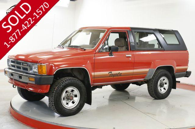 1986 TOYOTA 4RUNNER  CA TRUCK 4x4 TIME CAPSULE COLLECTOR LOW MI