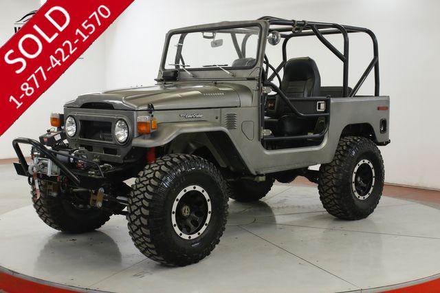 1975 TOYOTA  FJ40  FRAME OFF BUILD 4W DISC V8 PS PB 4x4 WINCH