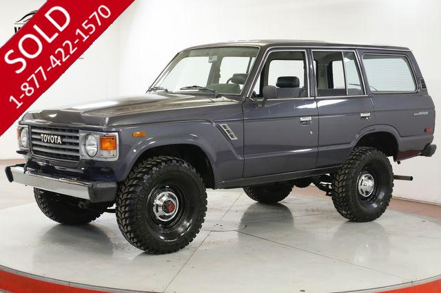 1986 TOYOTA FJ60 LOW ACTUAL MILES 4SPD PS PB 33 INC TIRES
