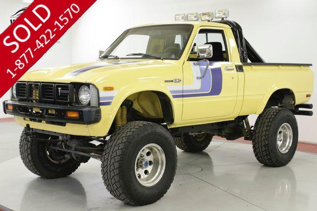 1979 TOYOTA HILUX SR5 CA TRUCK 4x4 20R LOW MILES BABIED