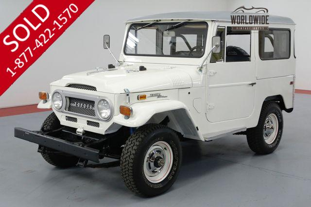 1971 TOYOTA LAND CRUISER RESTORED AND UNCUT!