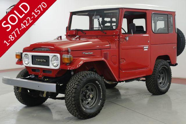 1981 TOYOTA LAND CRUISER  FRAME OFF RESTORED 5 SPEED AC! PS PB