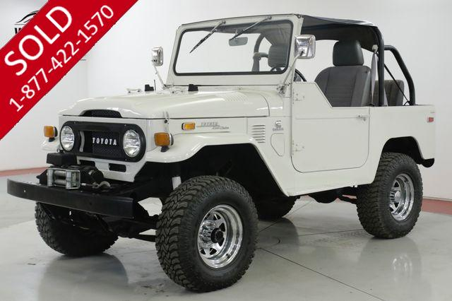 1972 TOYOTA LAND CRUISER FJ40 CUMMINS TURBO DIESEL 5 SPEED $35K BUILD
