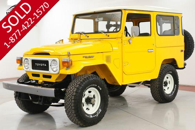 1979 TOYOTA LAND CRUISER FJ40 FRAME OFF RESTORED NAS 53K ORIGINAL MI