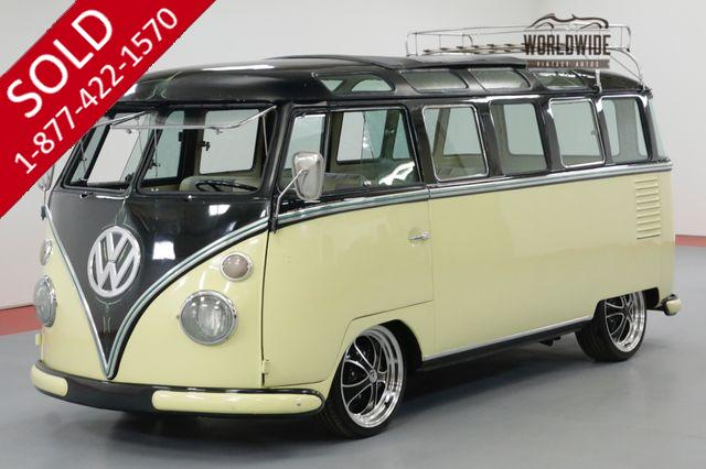 1964 VOLKSWAGEN 23 WINDOW MICROBUS RESTORED RARE SLIGHTLY CUSTOM SHOW READY