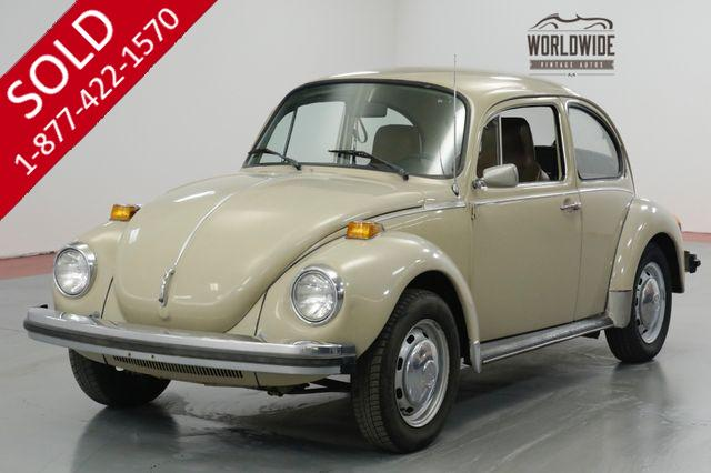 1974 VOLKSWAGEN BEETLE TWO OWNERS - ALL ORIGINAL