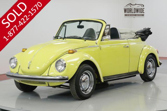 1973 VOLKSWAGEN BEETLE CONVERTIBLE HARTZ CANVAS TOP