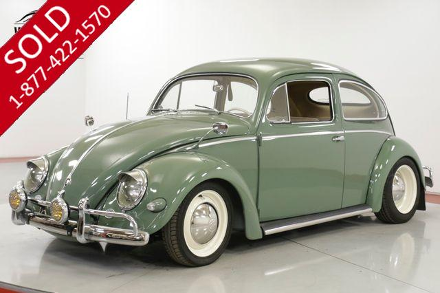 1956 VOLKSWAGEN  BEETLE BUG EXTENSIVE RESTORATION OVAL WINDOW