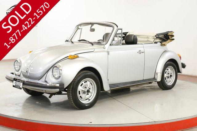 1979 VOLKSWAGEN BEETLE CONVERTIBLE RARE COLLECTOR SUMMER READY