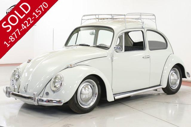 1965 VOLKSWAGEN BUG RESTORED CALIFORNIA LOOK. ACCESSORIES.