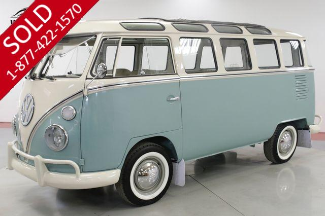 1975 VOLKSWAGEN  BUS  VW 23 WINDOW MICROBUS RESTORED CUSTOM SAFARI