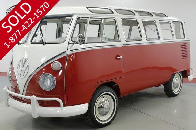 1973 VOLKSWAGEN  BUS 23 WINDOW VW MICROBUS NUT AND BOLT RESTORED