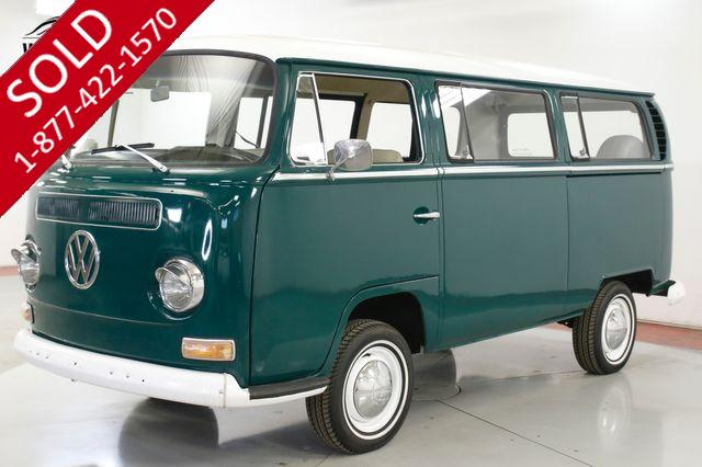 1968 VOLKSWAGEN BUS  RARE WALK THROUGH CA BUS BAY WINDOW