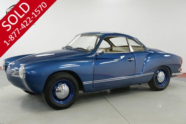 1969 VOLKSWAGEN  KARMANN GHIA BEAUTIFUL 1500CC 4-SPEED MUST SEE