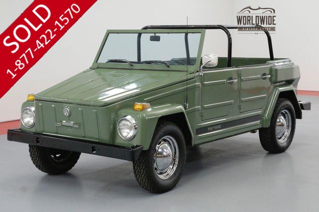 1974 VOLKSWAGEN THING EXTREMELY CLEAN CONVERTIBLE TOP