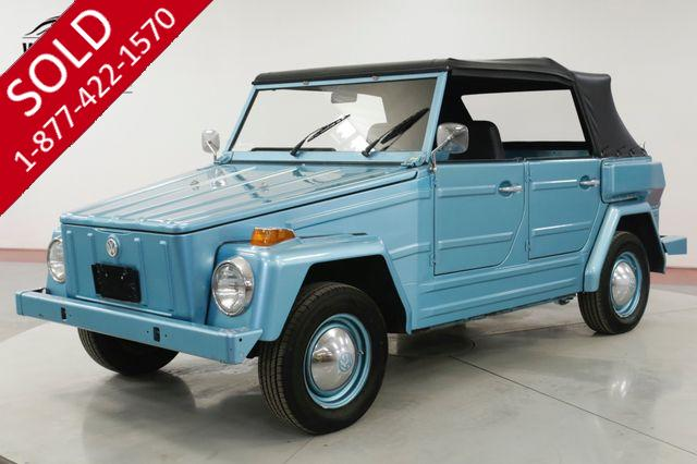1974 VOLKSWAGEN  THING BEAUTIFULLY RESTORED CONVERTIBLE RARE CAR