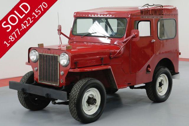 1961 WILLYS CJ3B 4 CYL MANUAL 4X4
