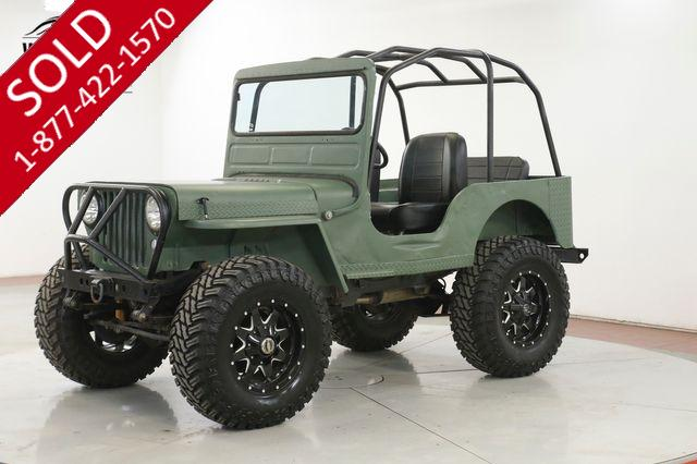 1946 WILLYS JEEP REBUILT V8 LIFT 35